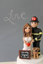 firefighter wedding cake wedding cake toppers picmia