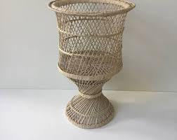 Large Wicker Vases Plant Basket Etsy
