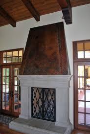home decor awesome copper fireplace home decor interior exterior