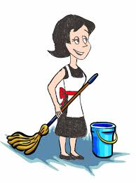 Cleaning The House by Mother Cleaning The House Clipar Clip Art Library