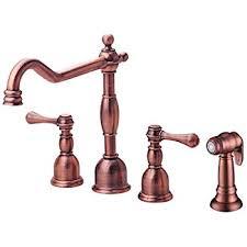 antique copper kitchen faucets danze d454457ac opulence single handle pull kitchen faucet