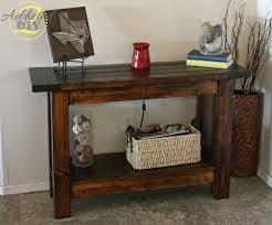 ana white console table home design brilliant console tables console entryway tables ana