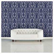 tempaper wallpaper tempaper branches removable wallpaper single roll blue target