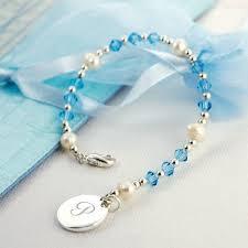 monogram charm bracelet with monogram charm