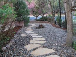 the 25 best river rock gardens ideas on pinterest landscaping