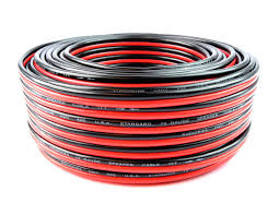 audiopipe 12 gauge 100 ft red black car audio stereo speaker wire