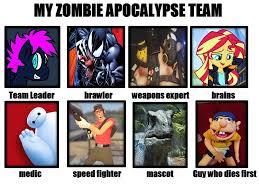 Zombie Team Meme - my zombie team meme by loonyartist96 on deviantart