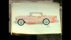 classic cars drawings don wise hand drawing of cars 1950s youtube