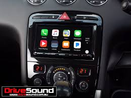 nissan canada apple carplay peugeot 308 with apple carplay installed by drivesound apple