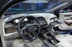 luxury jeep interior the all electric jaguar i pace is aimed right at the model x the