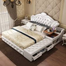 soft bed frame usd 469 67 european style tatami beds leather beds soft beds 1 8