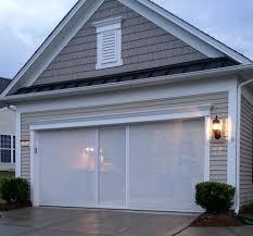 retractable garage door screen modern top retractable garage door screen