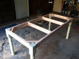 build dining room table supreme do it yourself youtube 16