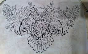 furious attacking owl tattoo design tattooimages biz