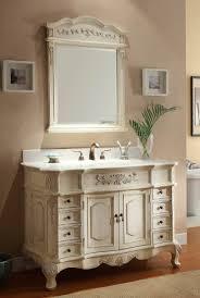 Cottage Style Bathroom Vanity Find Cottage Style Bathroom Vanity - White 48 inch bath vanity