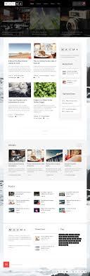 home decor blogs wordpress magma modern wordpress theme for blog magazinesearch themes