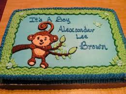 monkey boy baby shower 13 buttercream monkey cakes for boys photo monkey birthday cake