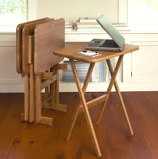 folding oversized wood tray table in espresso folding tray tables 3843615 wood australia canada concassage info
