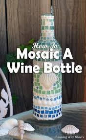 wine bottle crafts the crazy craft lady