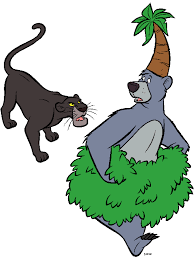 jungle book characters names clip art library