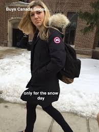 Canada Snow Meme - ann arctica uofmemes201