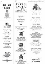 16 of 18 price lists u0026 menus u2013 sketch restaurant london french
