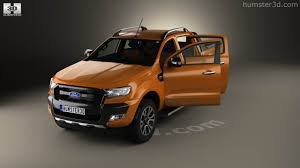 ford ranger interior 360 view of ford ranger double cab wildtrak with hq interior 2016