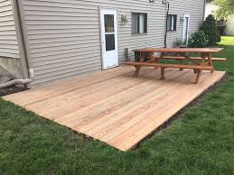 tips ground level deck home depot build a deck stand alone