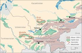 Aral Sea Map The Reconfiguration Of Participatory Irrigation Management In
