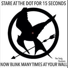 The Memes - stare at the dot for 15 seconds memes hunger games and gaming
