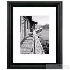 10x13 photo albums black portrait matted 14x18 10x13 stepped frame by malden design