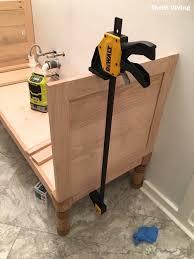 Diy Bathroom Vanities How To Build A 60