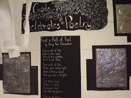 the poem farm eraser dust poetry art and chalking