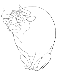 printable bull mask printable disney ferdinand coloring pages
