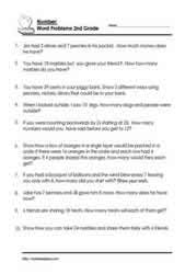 2nd grade math worksheets word problems our 5 favorite 2nd grade