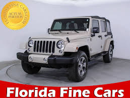 2016 jeep wrangler unlimited sahara new and used beige jeep wrangler unlimiteds for sale getauto com