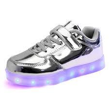 Kids Light Up Shoes Light Up Shoes Boys Girls Unisex Big Kids Led Shoes 7 Colors