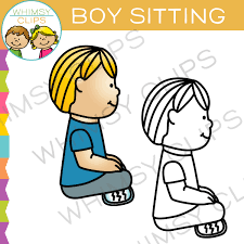 child sitting clipart clipart of sitting crisscross clipground