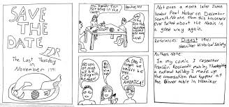 history on thanksgiving henniker local history comics about wwii comics workshop