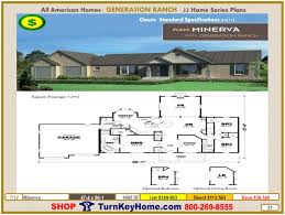 minerva modular home ranch plan direct priced from all american