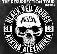 black veil black veil brides and asking alexandria may 7 gillioz theatre