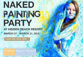 exotic travelers images Exotic travelers hidden beach resort naked painting party jpg