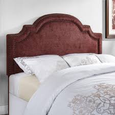 diy upholstered headboard with nailhead trim and 2 inch foam