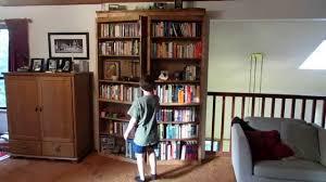 secret door bookcase youtube