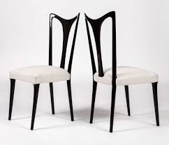 guglielmo ulrich rare set of 6 dining chairs at 1stdibs