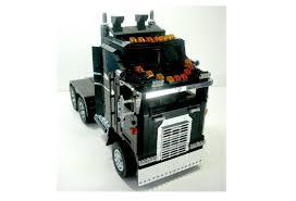 lego ideas kenworth aerodyne k100 truck