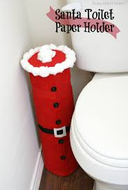 santa toilet paper holder busy moms helper