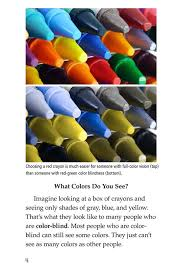 People Who Are Color Blind Color Blindness