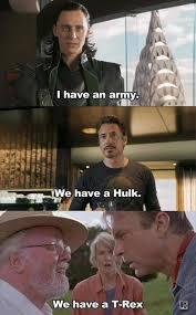 Avengers Memes - funny avengers jurassic park meme w630