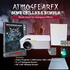 amazon com amosfearfx bone chillers video projector bundle